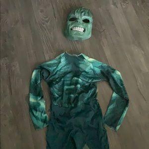 Boys hulk costume